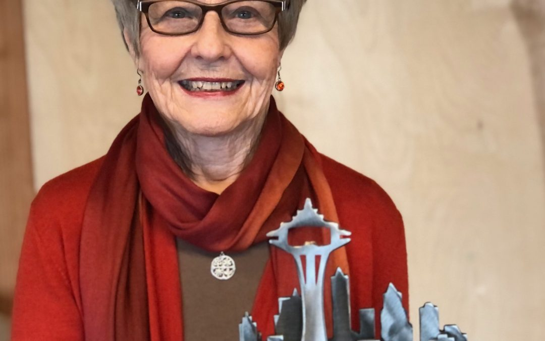 Honoring Trudy James, the 2020 Newell Award recipient